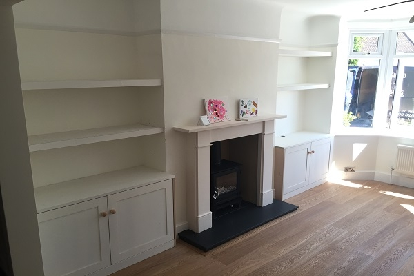 Petersfield Carpenters - Bookcases 4