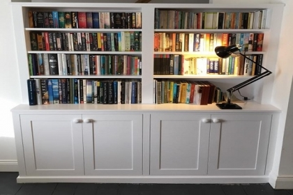 Petersfield Carpenters - Bookcases 1