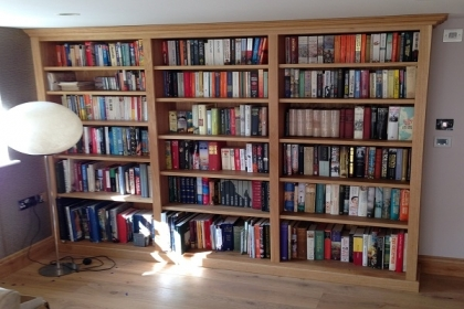Petersfield Carpenters - Bookcases 8